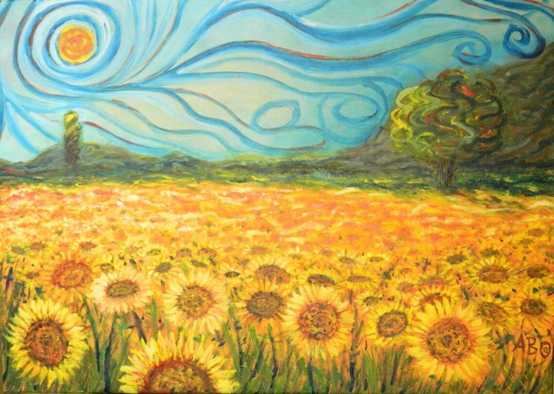Girassóis - Vicent Van Gogh